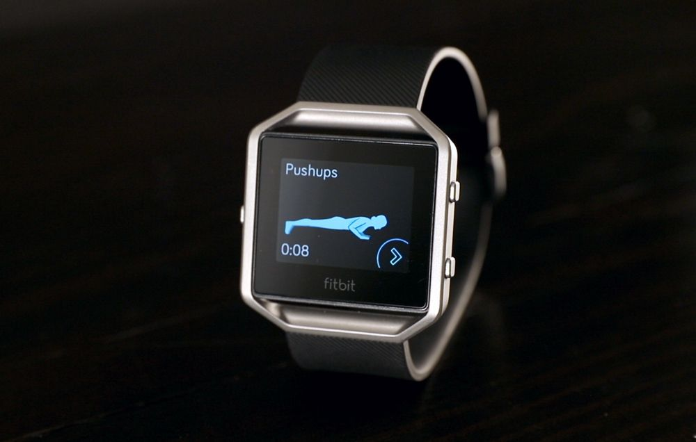 Tested: The Fitbit Blaze Smart Watch | Bicycling