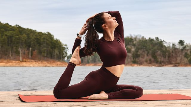 lifestyle photo of fitbit morgan
