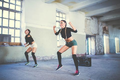 fitness dancing girls