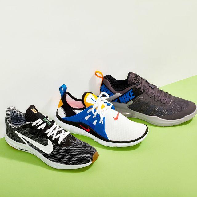 three nike shoes