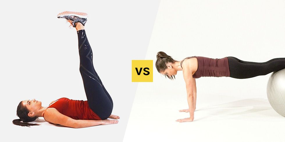 The Best Move To Tone Your Lower Abs Without Straining Your Back