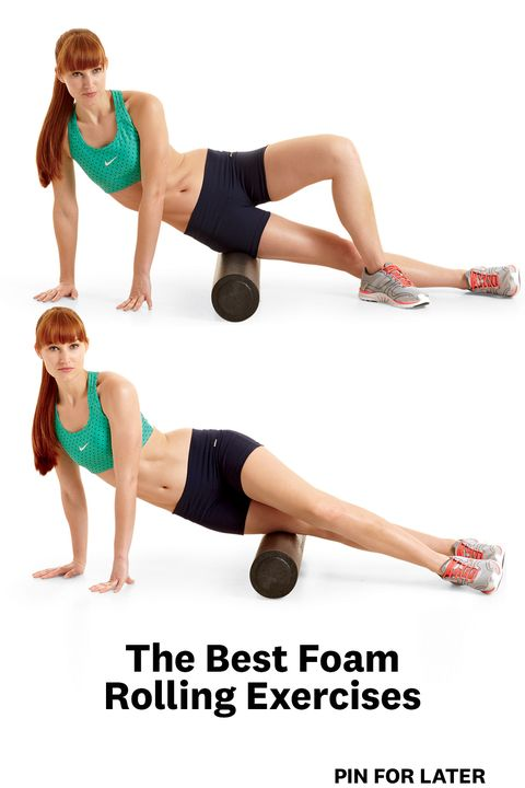 7 Foam Rolling Exercises Your Body Is Begging You To Do