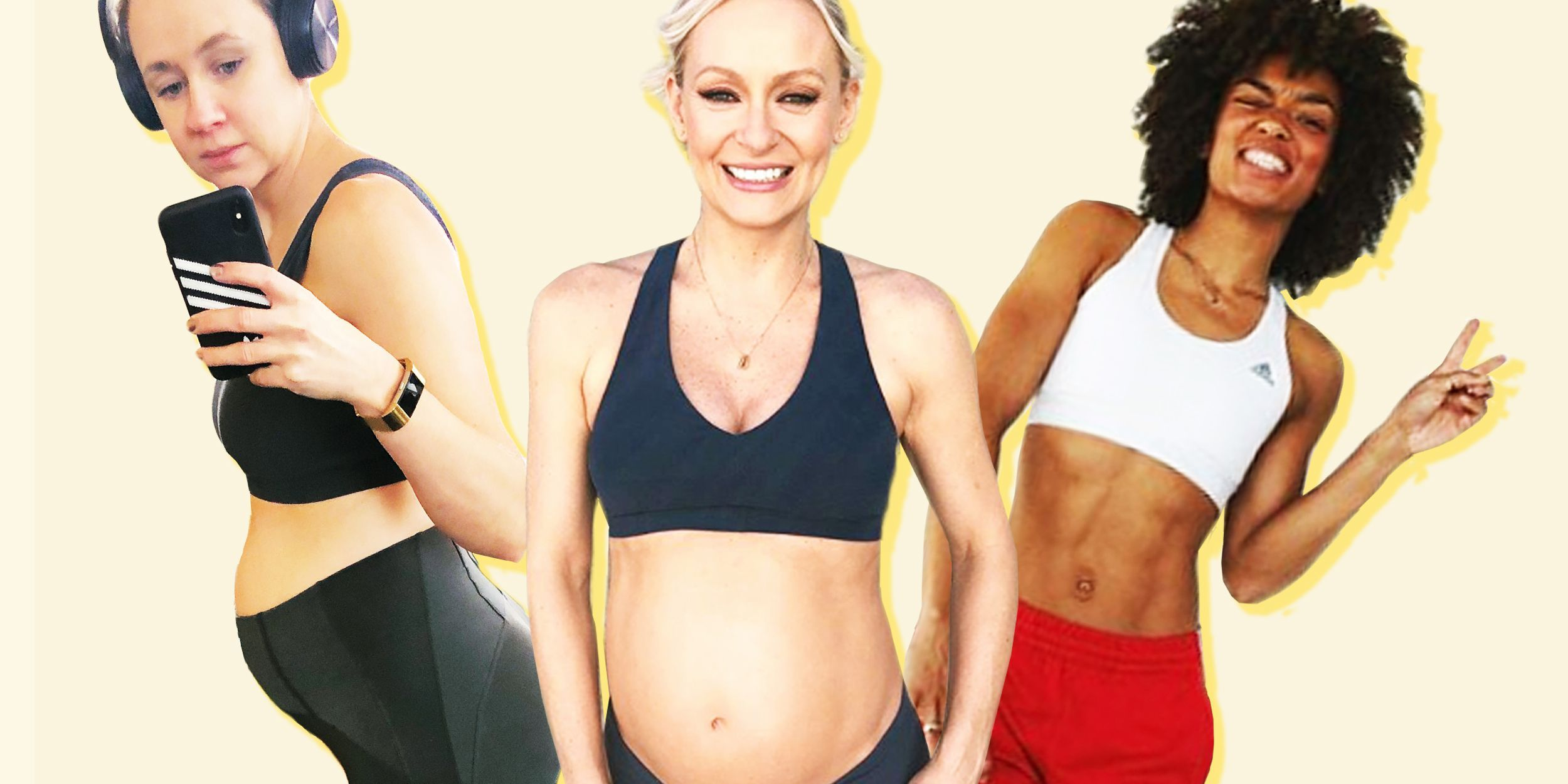 My Pregnant Body - 3 Fitness Influencers On Working Out Until Birth And Coping With Changing Shape