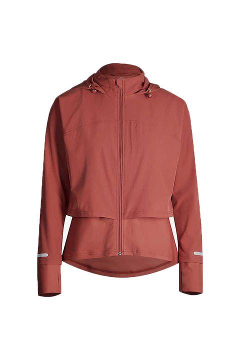 Fast Track Run layered stretch-woven jacket