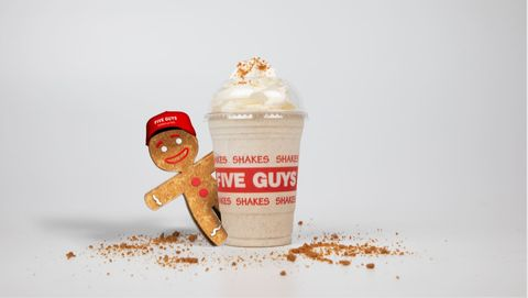 Five guys gingerbread milkshake