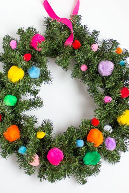 45 Diy Christmas Wreaths How To Make A Holiday Wreath