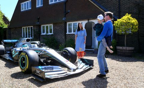 ee022fab317f6 Formula 1 Champ Lewis Hamilton Sends His Race Car to Terminally Ill  Five-Year-Old Fan Harry Shaw