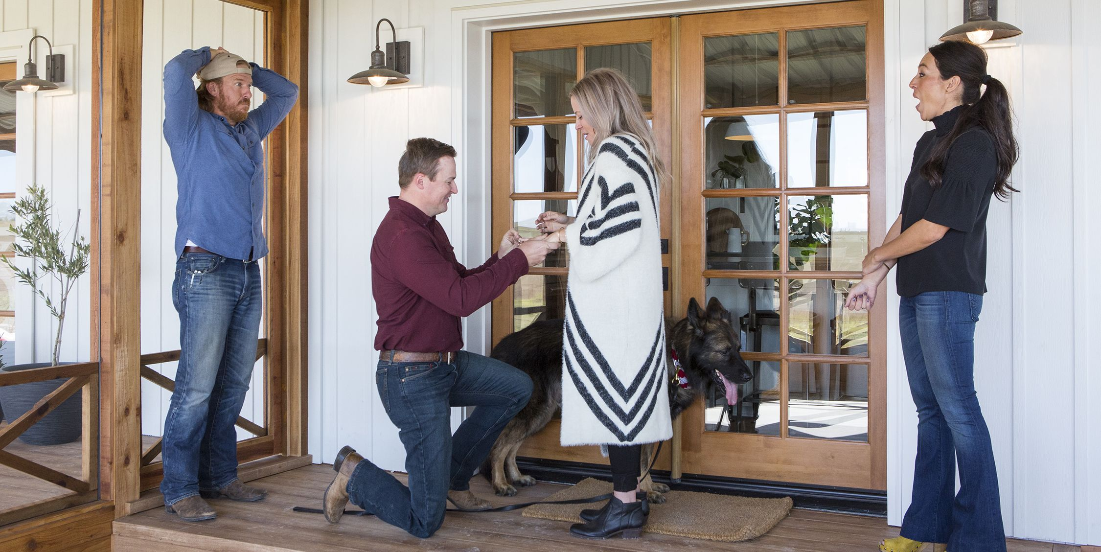 fixer upper proposal chip joanna gaines