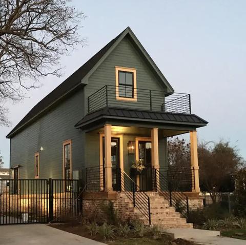 airbnb  shotgun house fixer upper