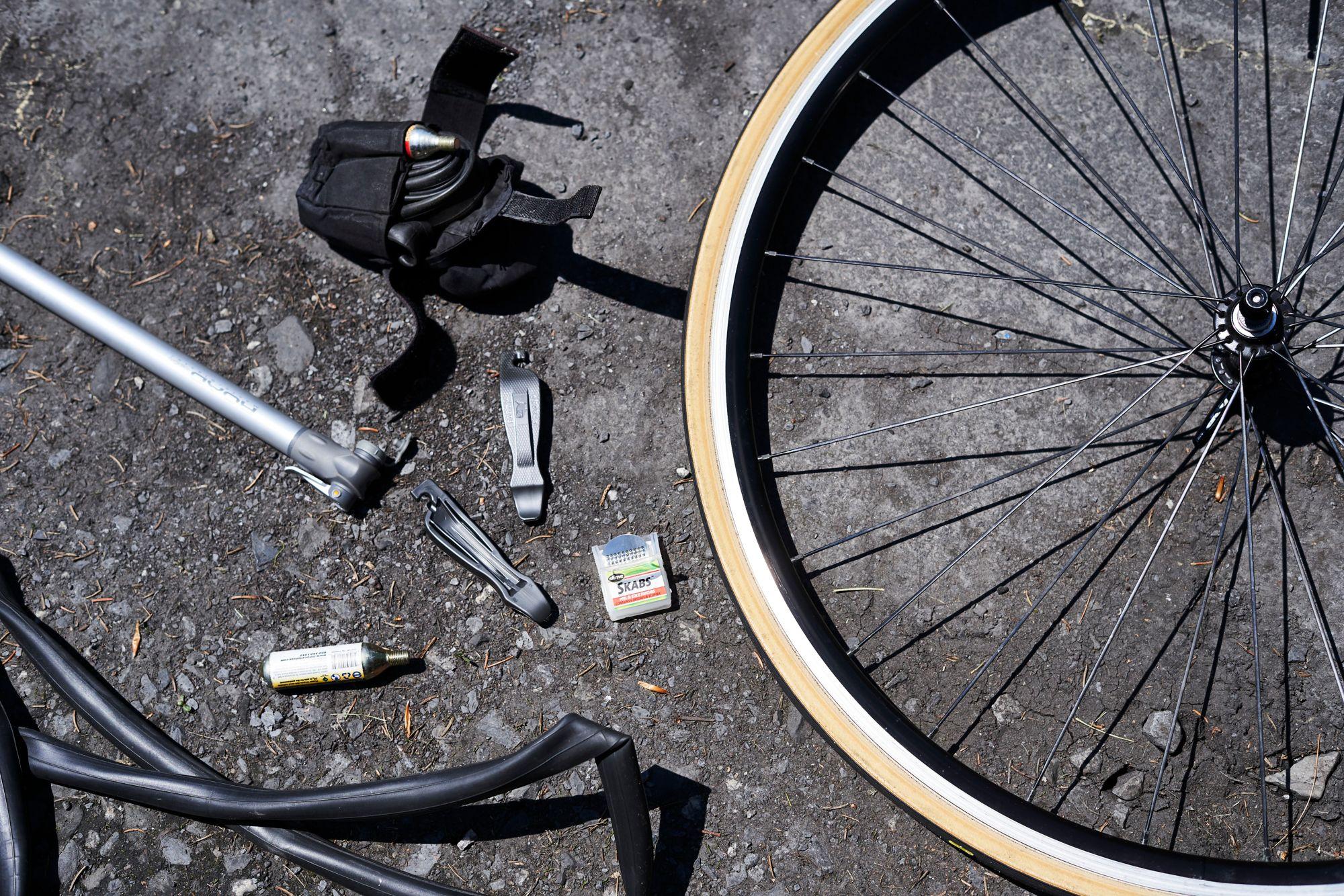 How to Change a Bike Tire | How to Fix a Flat Tire on Bike