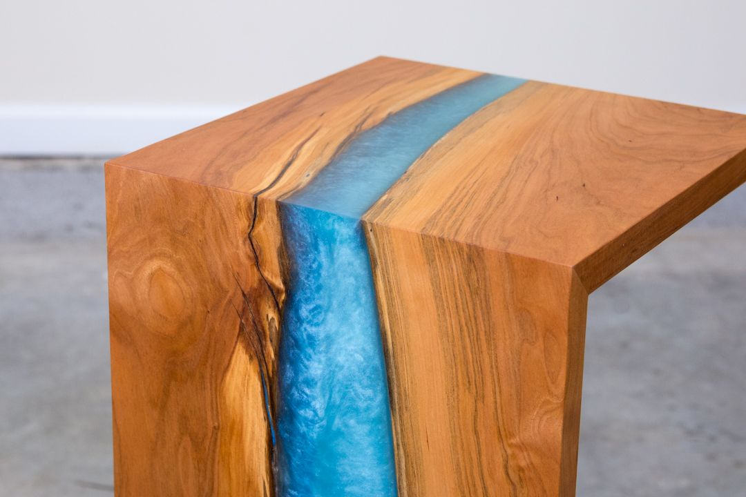 You Can Build this Gorgeous DIY Waterfall Table