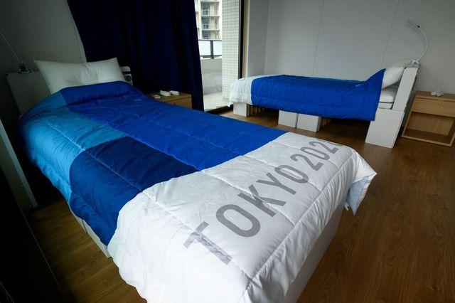 tokyo 2020 olympic cardboard beds
