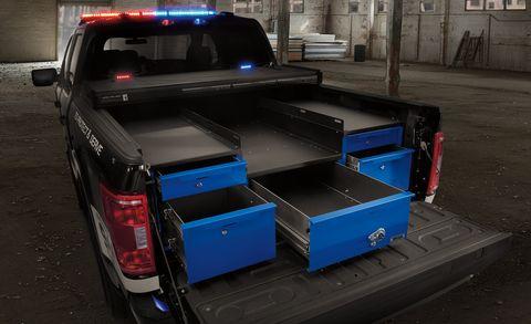 2021 ford police responder pickup