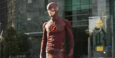Flash, Fictional character, Superhero, Screenshot, Street fashion, Muscle, Batman, Pc game, Jacket, Games,