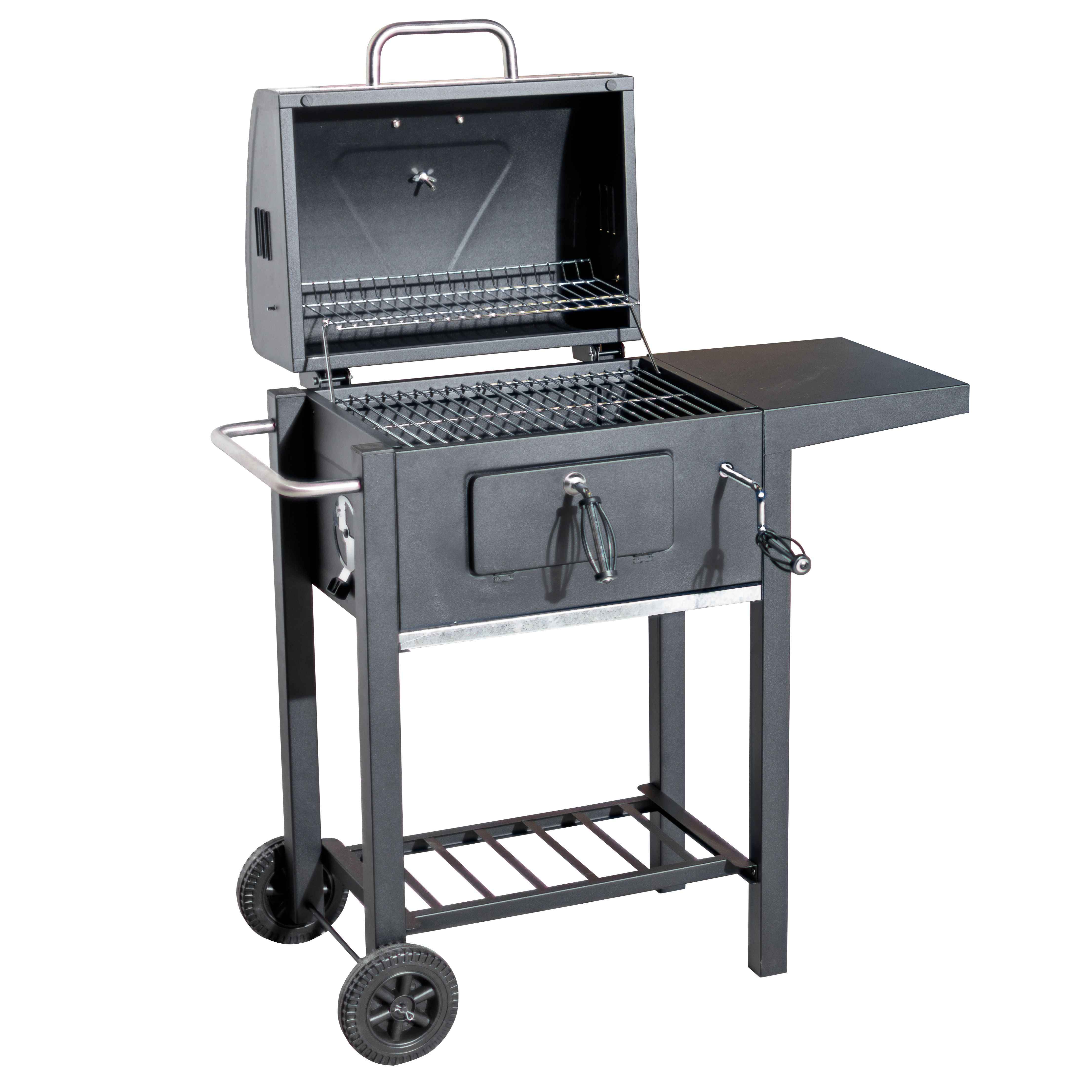 Flame Master Charcoal Trolley BBQ - Robert Dyas
