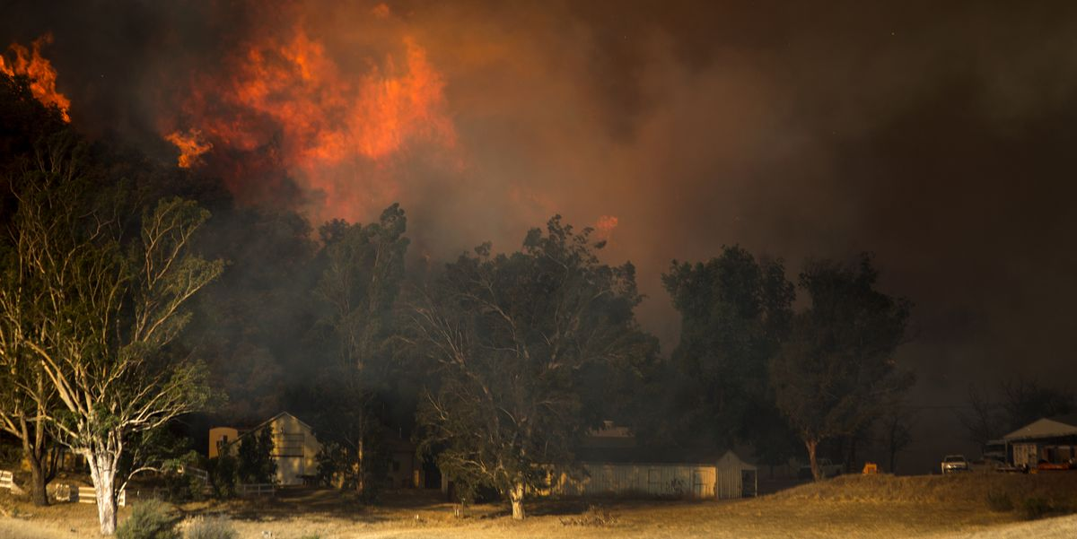 California Fires Threaten Celebrity Homes Popular Culture ...