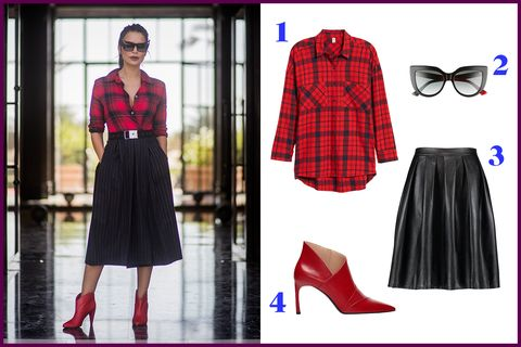 bf3550af 7 Cute Flannel Outfits for Women - How to Wear A Flannel Shirt This Fall