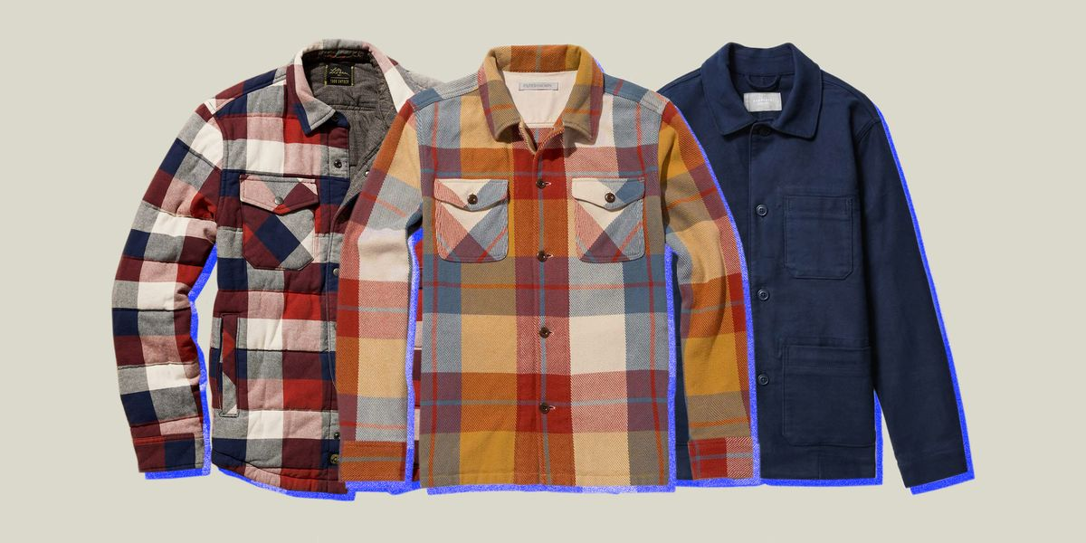 These Flannel Jackets Are Just the Right Weight For Colder Weather