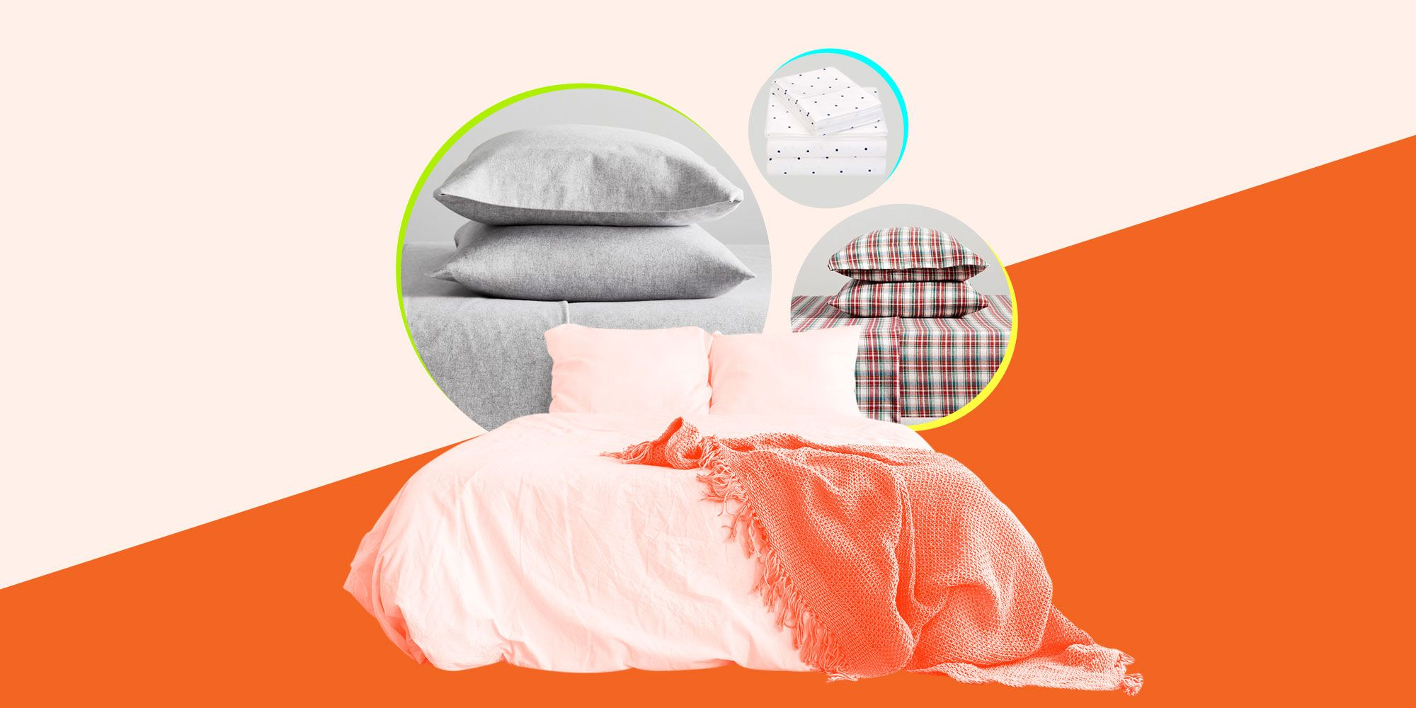 7 Flannel Sheets You Should Own if You Wanna Feel Like a Grownup Lady