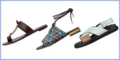 Footwear, Sandal, Shoe, Slingback, Font, Fashion accessory,