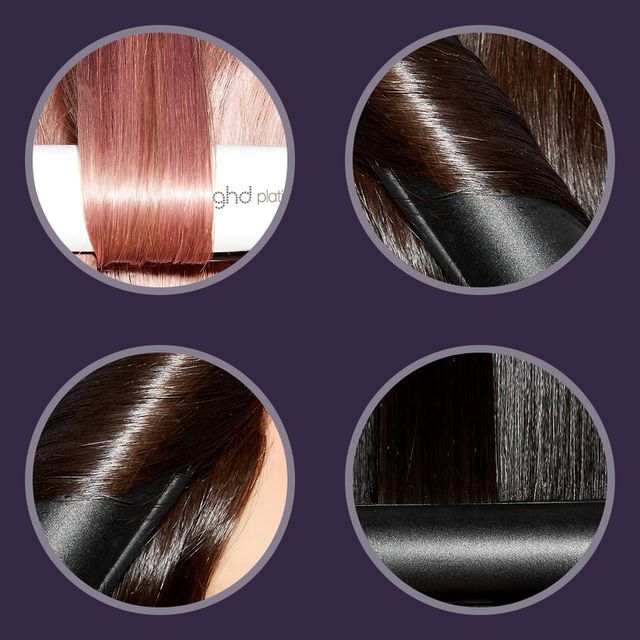 ghd flat iron on different hair textures