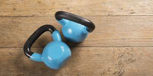 kettlebell exercises - women's health uk