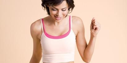 Arm, Skin, Human body, Shoulder, Elbow, Chest, Standing, Undershirt, Waist, Joint,