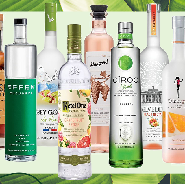 The Best Flavored Vodkas You Can