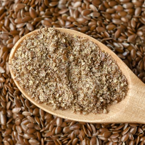 Flax powder and seeds