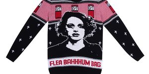 This Fleabag Christmas Jumper Features Cans Of Gin And Tonic And That Fox