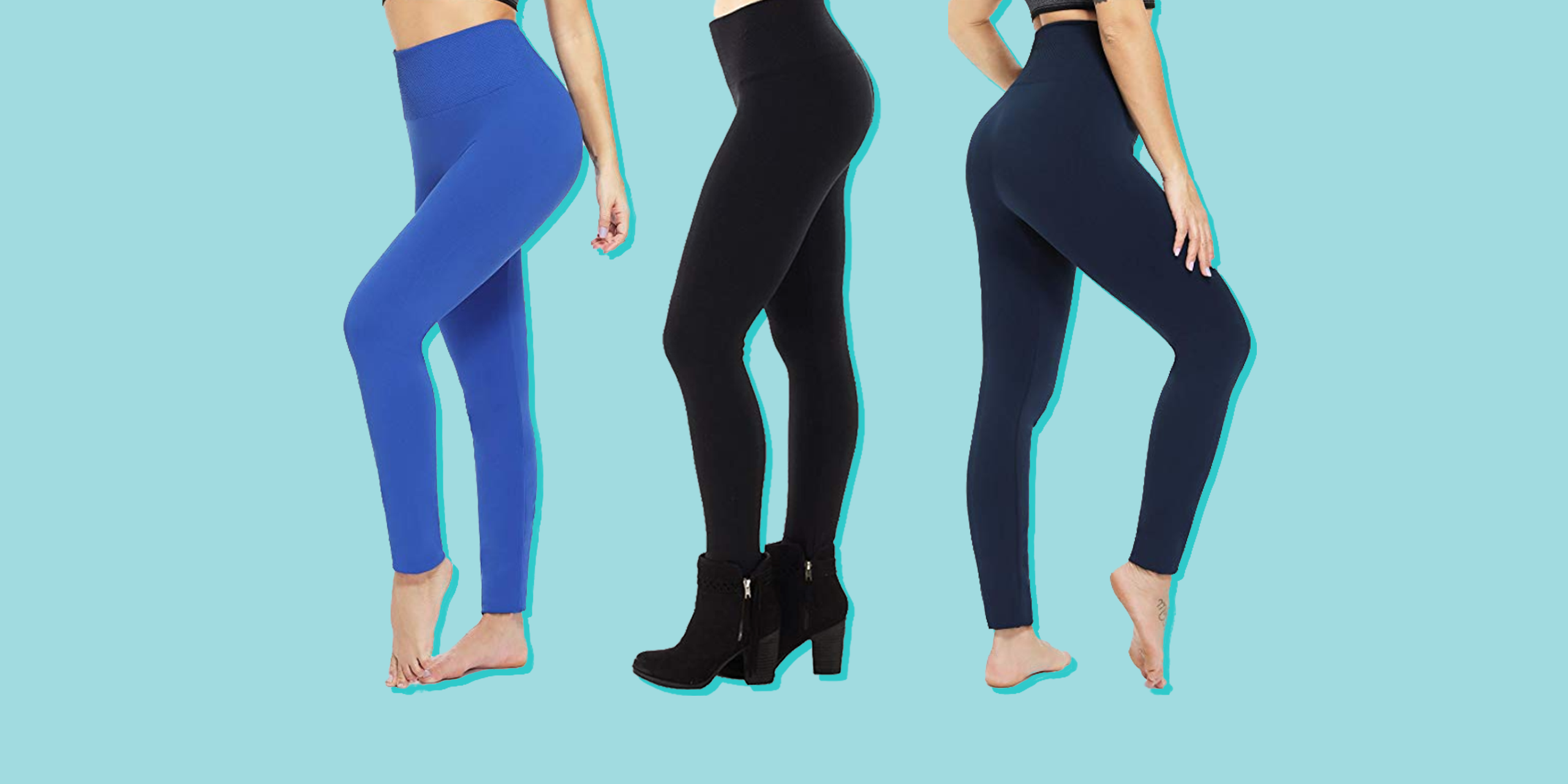 These $11 Fleece-Lined Leggings Are Perfect for Layering on Chilly Days