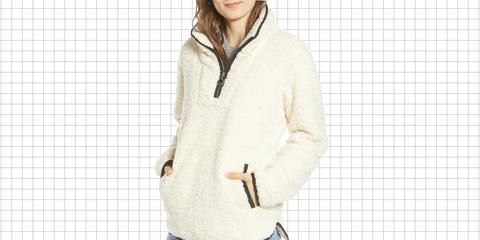 Clothing, White, Outerwear, Hood, Sleeve, Jacket, Hoodie, Neck, Zipper, Coat,