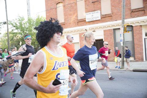 Leg, Road, Recreation, Endurance sports, Quadrathlon, Human leg, Running, Street, Active shorts, Outdoor recreation,