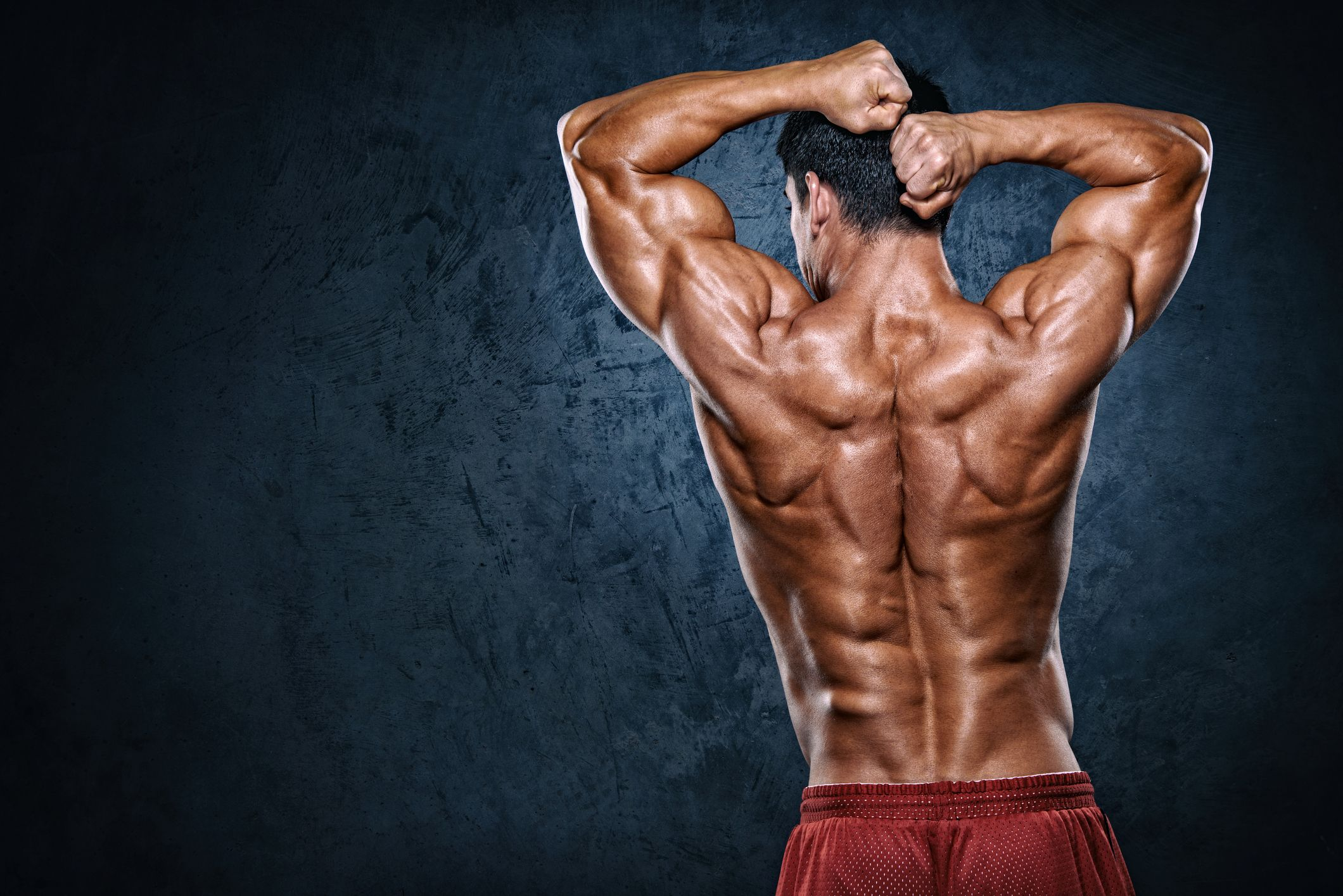 How to build back muscle at home without weights