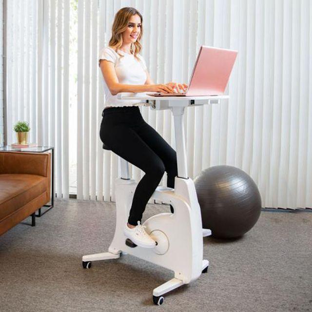 flexispot desk indoor cycling bike workstation