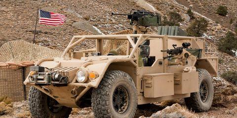 Vehicle, Armored car, Military vehicle, Car, Motor vehicle, Armored car, Off-road vehicle, Military, Humvee, Automotive wheel system,