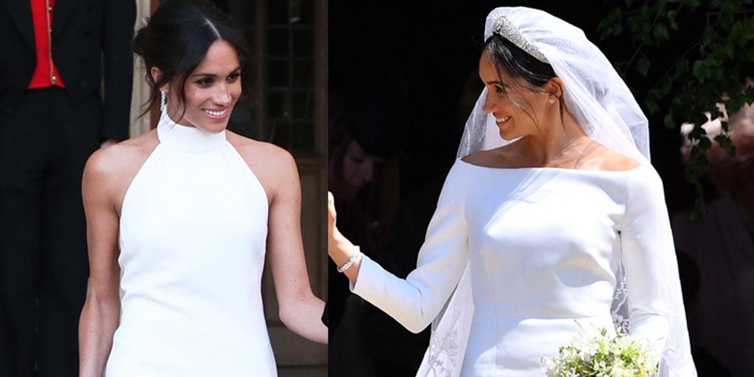 2a75c5697fd Meghan Markle Second Wedding Dress - Meghan Markle Royal Wedding Reception  Dress