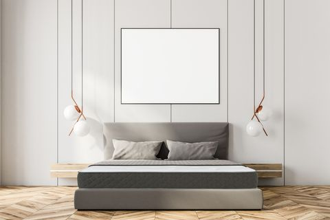 Furniture, White, Bed, Room, Interior design, Wall, studio couch, Table, Couch, Floor,