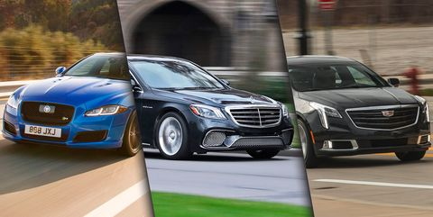12 Best Big Luxury Sedans Top Full Size Luxury Cars Ranked