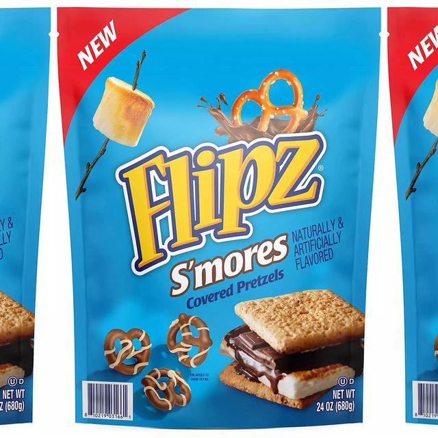 flipz s'mores covered pretzels