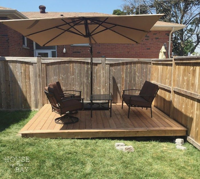 12 Diy Floating Deck Ideas Backyard Decorating