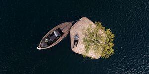 Un archipiélago de islas de madera ha comenzado a nacer en Copenhague