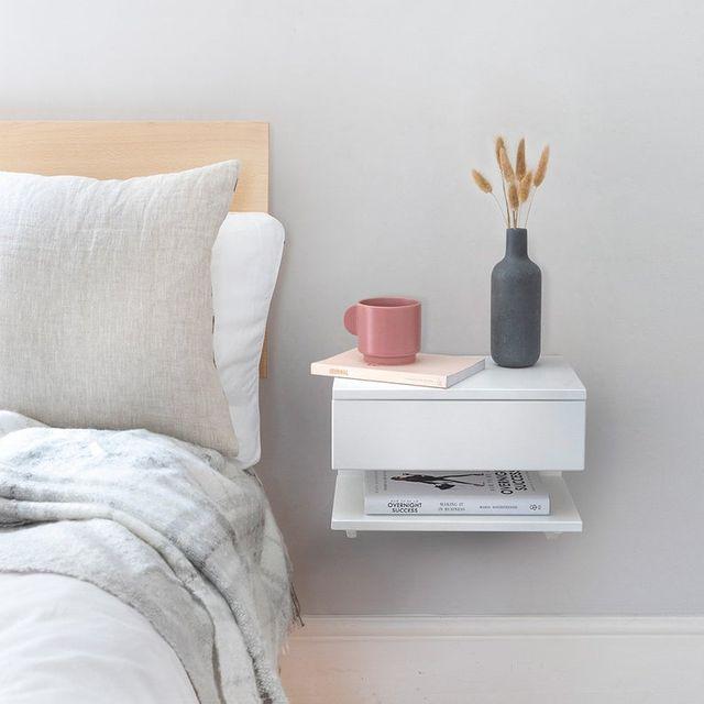 floating nightstand
