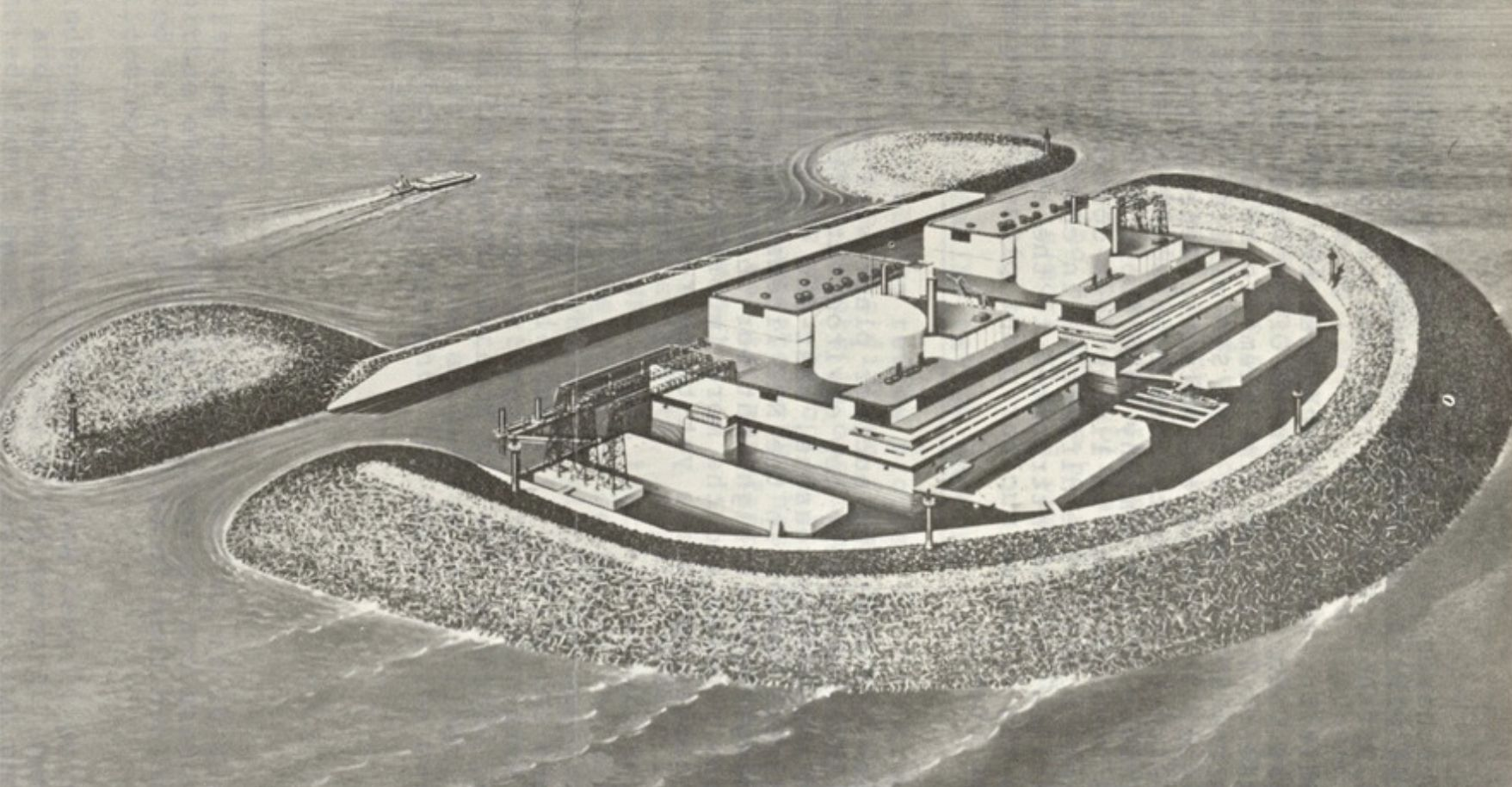 Floating Nuclear Power Plants Sounded Screwy in 1969. Today? Not So Much