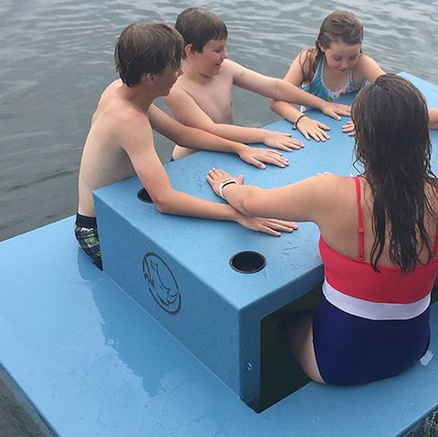 You Can Get a Floating Picnic Table at Sam's Club