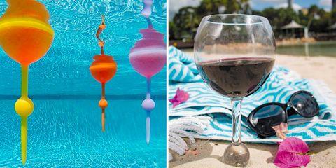 Stemware, Wine glass, Turquoise, Champagne stemware, Drink, Champagne cocktail, Glass, Drinkware, Aqua, Tableware,