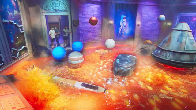 """the planetarium from """"floor is lava"""""""