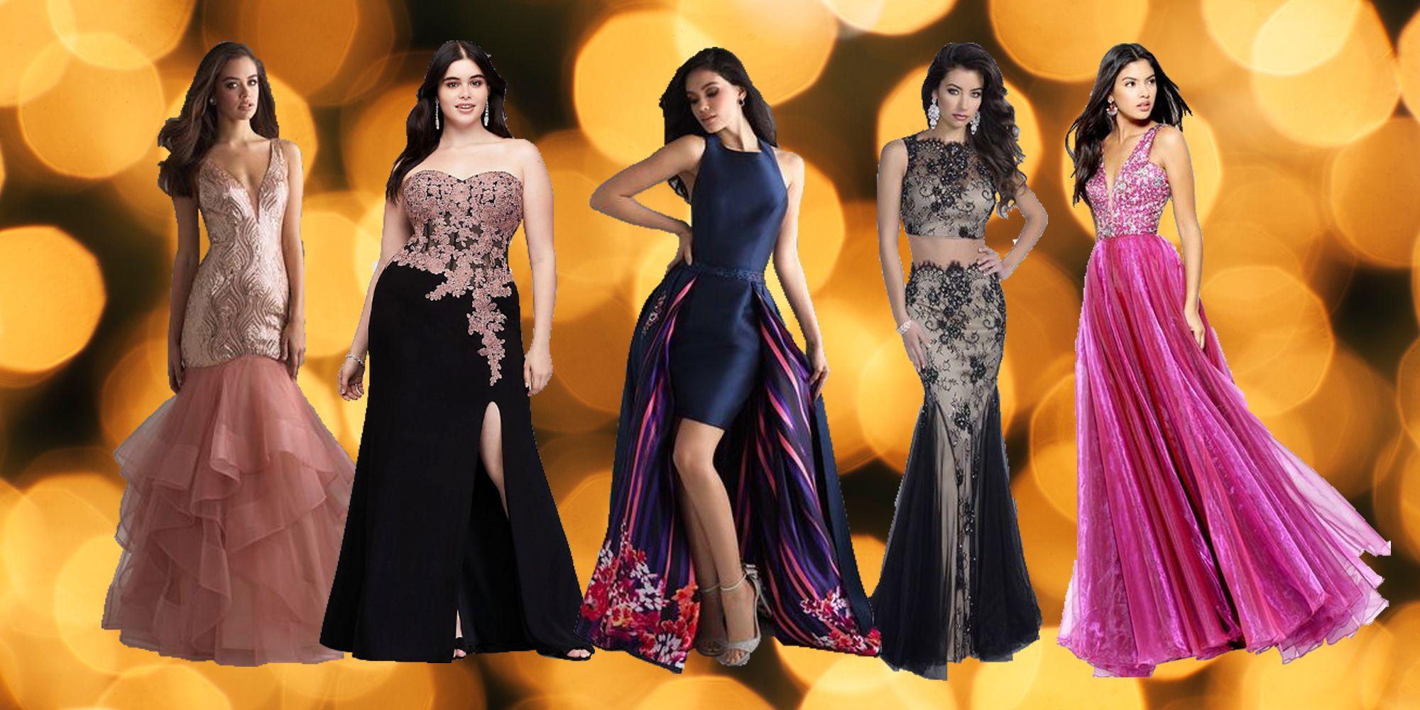 15 Cute Long Prom Dresses for 2018 - Best Floor Length Prom Dresses