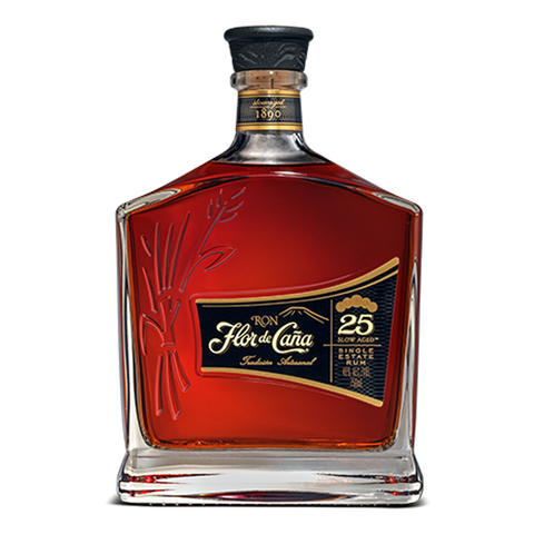 flor de caña 25 year rum