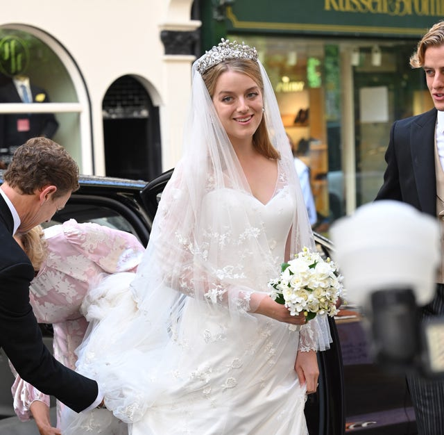 flora alexandra ogilvy and timothy vesterberg marriage blessing at st james's piccadilly